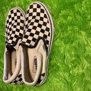 GOOD CONDITION Checkered Vans